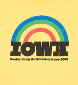 Iowa ≥ California t-shirt