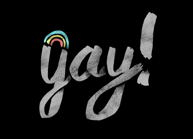Threadless [g]ay T-shirt